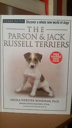 Parson & Jack Russell Terriers Guide Book & DVD (2006 Hardcover)