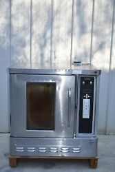 Blodgett Dfg-50-1 Half Size Gas Convection Oven New Electronic Panel