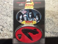 Nib Rare Kiss Collectible Tin And Folding Knife Uc2623 Mint Cond. Discontinued