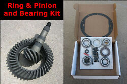 Chevy Gm 8.5 10-bolt Gears - 3.55 Ratio And Master Bearing / Installation Kit New
