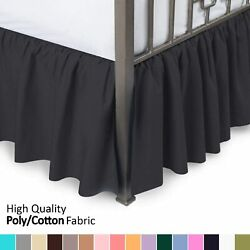 Blissford Day Bed Ruffled Bed Skirt, Available In 16 Colors
