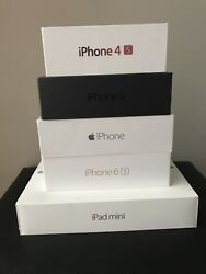 Lot Of 5 Iphone/ipad Empty Boxes - No Accessories