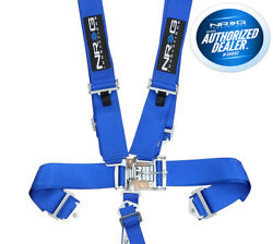 Nrg 5 Point Racing Harnesses Latch And Link Sfi Approved Sbh-5pcbl Blue