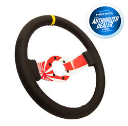Nrg Rst-021r-flag-y Japanese Flag Hydro-dipped Leather Steering Wheel 310mm