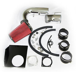 Air Intake Kit W Red Filter For Ford F150 F-250 Expedition 4.6l 5.4l Navigator