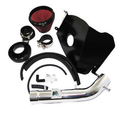 Red Cold Air Intake Kit + Heat Shield For 99-02 4runner 99-04 Tacoma 3.4l V6