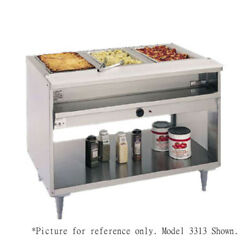 Randell 3312-208 Electric Hot Food Table with 2 Food Wells - 208 Volt