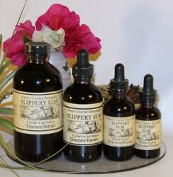 Slippery Elm Tincture Ibs Lose Weight Pain Psoriasis Stress Folk Remedy Extract