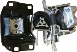 3pc Engine And Transmission Mount For 2012-2016 Ford Focus 2.0l No Turbo Auto