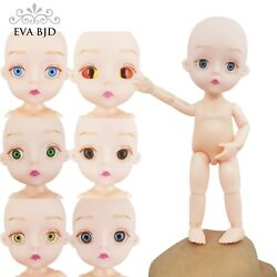 18 BJD SD Doll Jointed Dolls 15cm 5.9