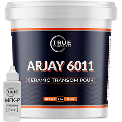 Boat Pourable Transom Repair Arjay 6011 Repair Kit Material Pourable Compound