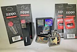 Zippo Pipe Lighter Package-new In Box-includes Ronson Lighter-2 Wicks/2 Flints