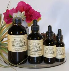 Mullein Extract Clear Lung Pulmonary Support Organic Folk Remedy Tincture