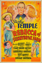 Rebecca of Sunnybrook Farm 1938 27x41 Orig Movie Poster FFF-65261 Fine Very ...