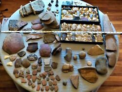 Huge Collection Paleo Archaic Neolithic. Meso-american And Much More