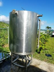 240 gallon stainless steel storage Industrial tank 316 double Wall...