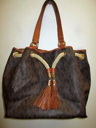 MICHAEL KORS amazing signature design leather purse bag FREE SHIPPING