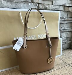 New $248 Michael Kors Jet Set Handbag MK Purse Designer Bag