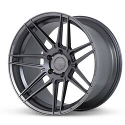 20 Ferrada F8-fr6 Graphite Forged Concave Wheels Rims Fits Honda Accord Coupe