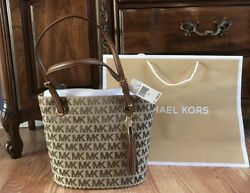 $248 New Michael Kors Jet Set MK Handbag Purse Designer Bag