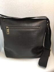 LOUIS VUITTON Shawnee MM Dark Brown Leather Crossbody Messenger Bag