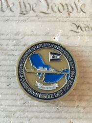 Destroyer Squadron 50 Commander Middle East Force Commodore Challenge Coin