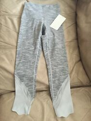 Lululemon Wunder Under Crop Scallop Sespecial Edition Size 4 Nwt Sold Out
