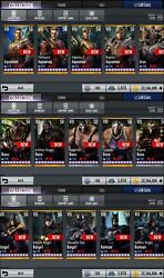 Injustice God Among Us Android/ios Fully Maxed Account All Gears All Characters