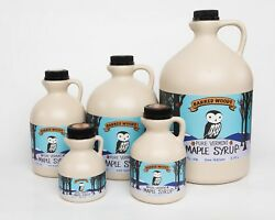 Pure Vermont Maple Syrup - From Barred Woods Maple