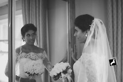 Lace Boutique Off The Shoulder Wedding Gown And Long Lace Veil...great Codition