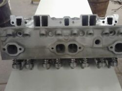 291 Chevy Small Block Double Hump Camelback Fueler Cyl Heads 1.94 64cc Reman