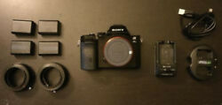 Sony Alpha A7s 12.2mp Digital Camera - Used With Extras