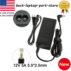 12V 5A 60W ACDC Adapter Charger Power Supply for CCTV DVR Camera LED light Lot