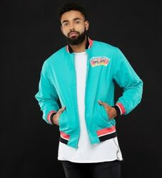 Nba Mitchell And Ness San Antonio Spurs Champions Team History Warm Up Jacket Teal