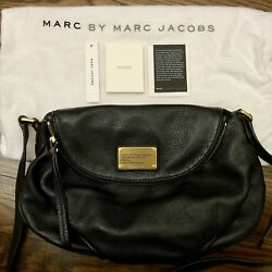 Marc by Marc Jacobs Classic Q Natasha Leather Crossbody Bag