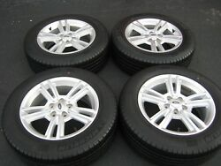 2010-2014 FORD MUSTANG OEM 17 INCH WHEELS RIMS & TIRES W/ CENTER CAPS