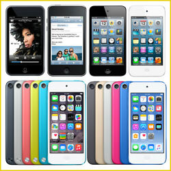Apple Ipod Touch 1st 2nd 3rd 4th 5th 6th 7th Generation / From 8gb - 256gb