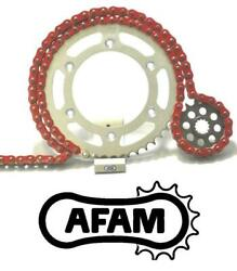 Afam Upgrade Red Chain And Sprocket Kit Honda Cbr1000rr 4-5 530 Oe 04-05
