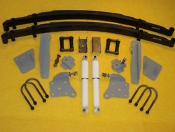 1941 - 48 Ford Mercury Chassis Engineering As-2017cgy Rear End Leaf Spring Kit