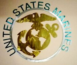 Us Military Branch Signs Marines Navy Army Air Force Hand Made Steel