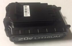 New Genuine Porter Cable Pcc681l 20v 20 Volt Max Lithium-ion 1.3ah Battery Pack