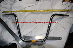 Honda Cf50 Cf70 Chaly Handle Bar Chromed Steel New Motorcycle Spare Parts