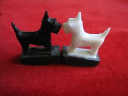 A Pair Scottish Terrier Tricky Dogs Magnet Scottie Dog Magnets