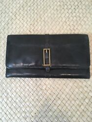Hobo Wallet Black With Buckle $27.99