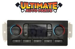 (Automatic) Temperature Climate Heater  AC Control for 2002 to 2009 GMC Envoy