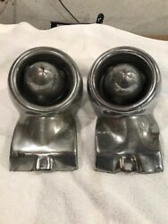 1955-1956 Thunderbird Bumper Guards With Bullets