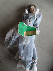 Rare Franklin Mint Vinyl Gibson Girl Lily In Floral Prototype Doll 15 Tall