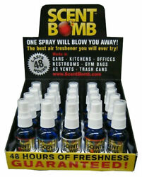5 Assorted Strong Scent Bomb Air Freshener 100 High Concentrated 1 Oz 5 Pack