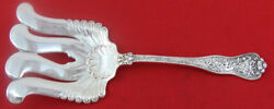 Olympian By And Co. Sterling Silver Asparagus Fork Wavy Tine 9 1/2 Nm