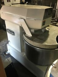 Nussex N120HD-3D Commercial Spiral Mixer 120 QT Digital Timer & Stainless Bowl